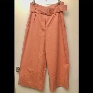 Pink Zara Wide Leg Pants in size M